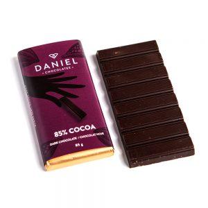 85% Cocoa Dark Chocolate Bar, 85g