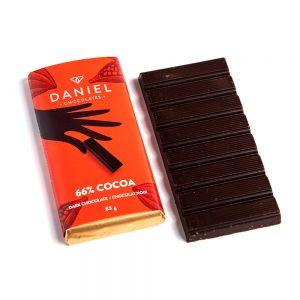 66% Cocoa Dark Chocolate Bar, 85g