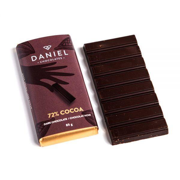 72% Cocoa Dark Chocolate Bar, 85g