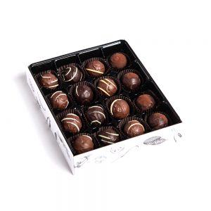 Chocolate Truffle Box, 16pc