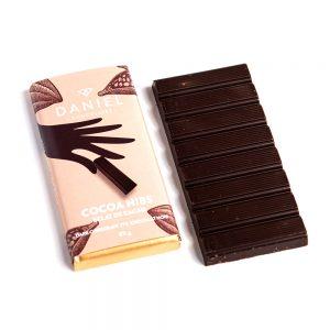 Cocoa Nibs Dark Chocolate Bar, 85g