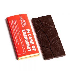 In Case of Emergency Chocolate Bar Dark, 30g