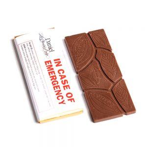 In Case of Emergency Chocolate Bar Milk, 30g