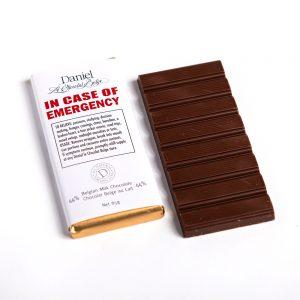 In Case of Emergency Chocolate Bar-Milk, 85g