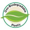 Oxo-Biodegradable Plastic label