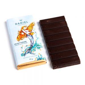 Salted Caramel Dark Chocolate Bar, 85g