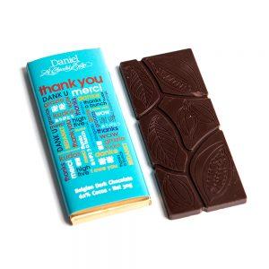 Thank You Chocolate Bar Dark, 30g