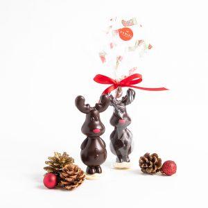 Chocolate Rudolf Reindeer - Dark, 100g