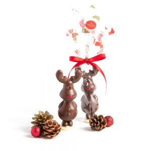 Chocolate Rudolf Reindeer - Milk, 100g