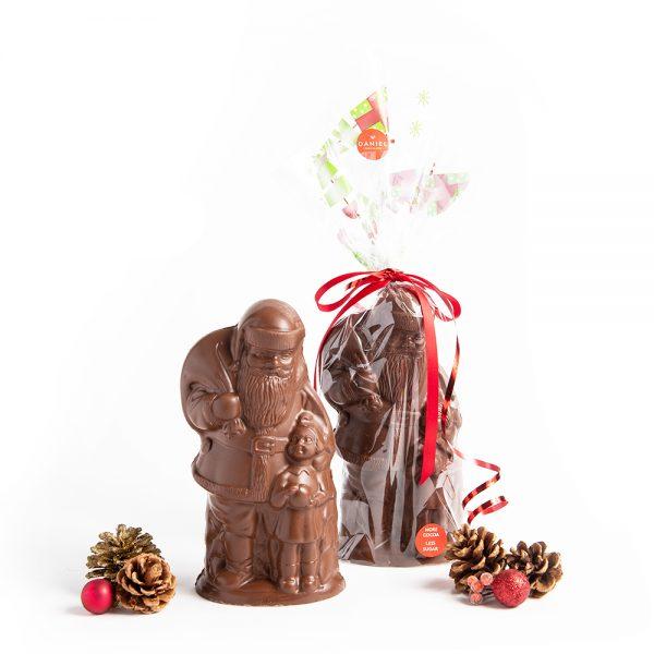 Large Chocolate Santa Milk, 325g