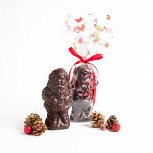 Medium Chocolate Santa - Dark, 225g