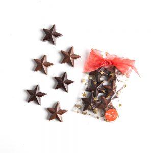 Milk and Dark Chocolate Stars, 6pc