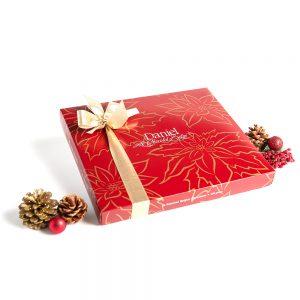 Pointsettia Chocolate Box, 44pc